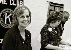 Anne at Bowling Green Kiwanis Club - October 2011
